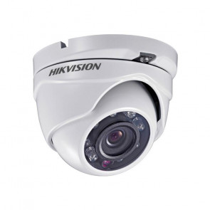 Cámara Domo Metálico Turbo Hd 5mp Exir 2.8mm Hikvision - DS2CE56H0TITMF28